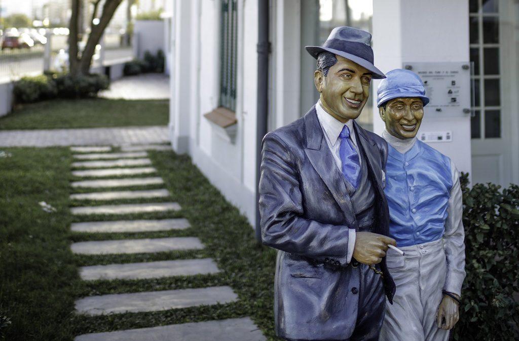 Gardel y Leguizamo en Villa Yeruá tango