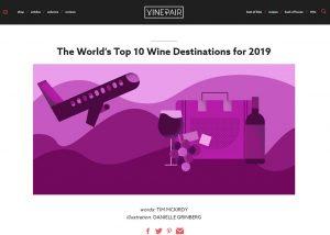 Portada Vinepair vinos de Uruguay