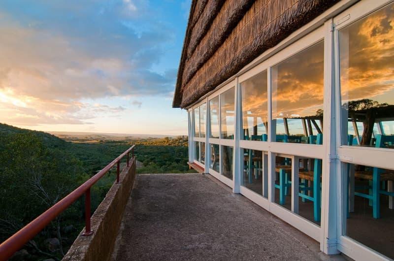 Vista de las Sierras de Lavalleja, desde la terraza del restaurante del Ventorrillo de la Buena Vista